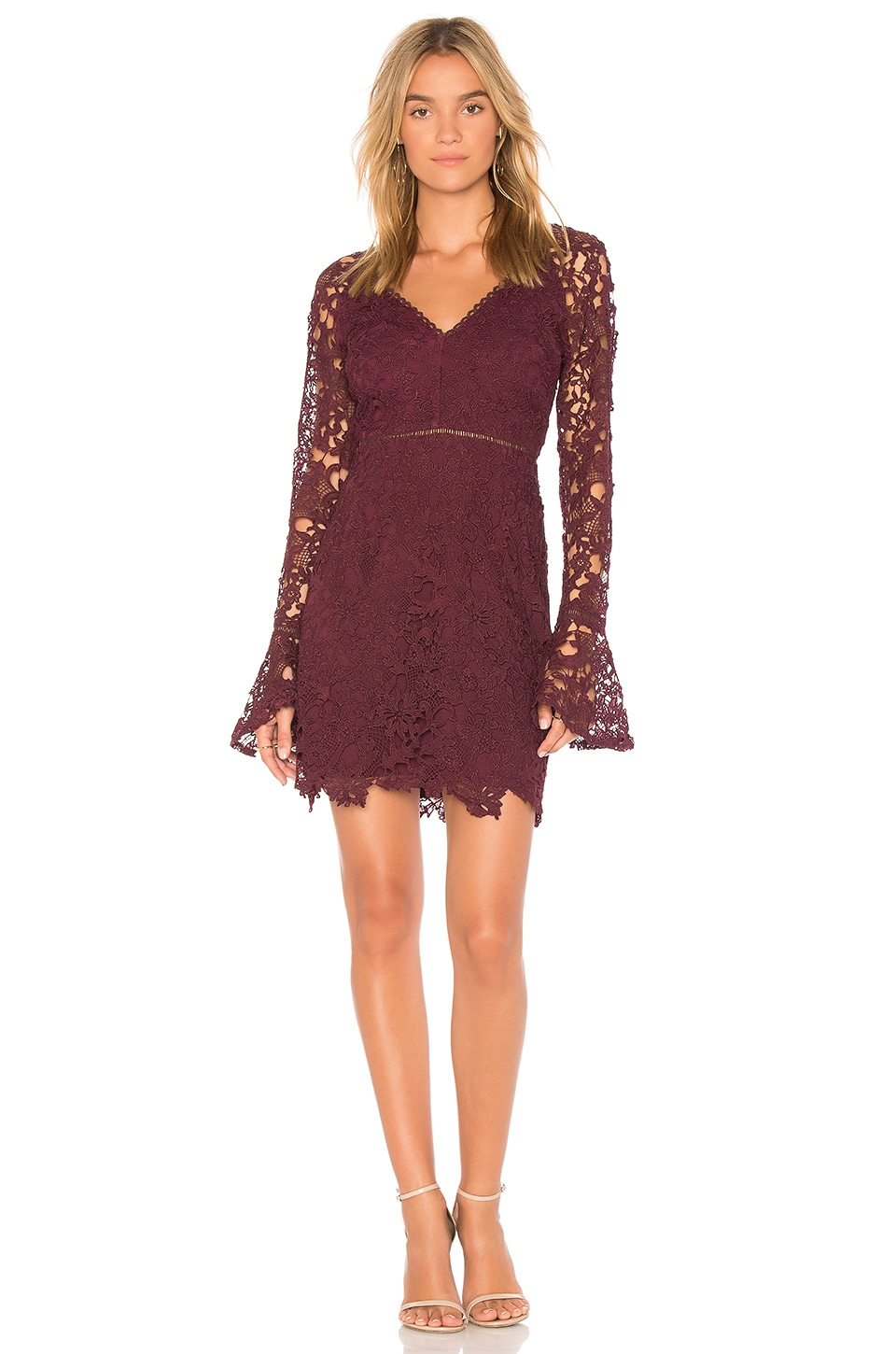 Cheap Pre Order Mercury Dress in in Wine. - size S (also in XS) Lovers + Friends Discount Online Discounts Cheap Price Fast Shipping Sale Brand New Unisex Z225awR3