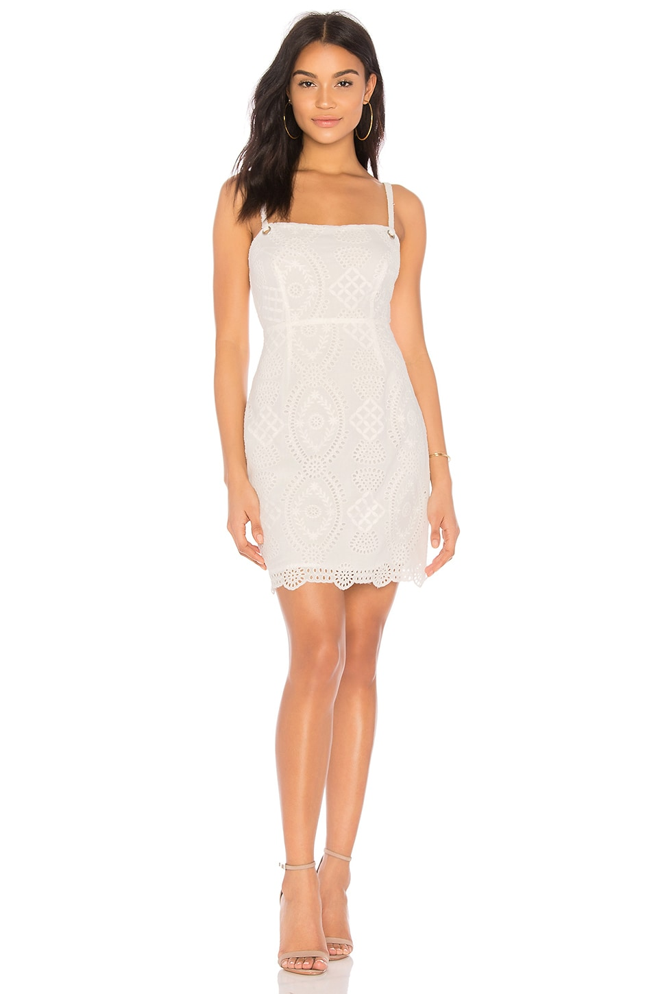ASTR the Label Heidi Dress in Off White