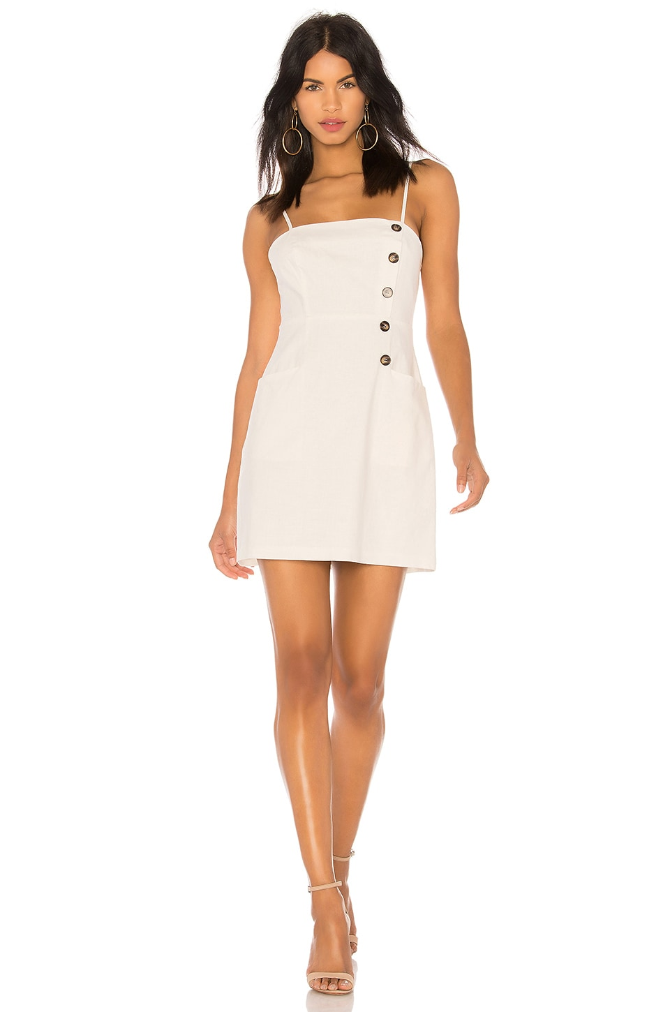 ASTR the Label Issa Dress in Off White