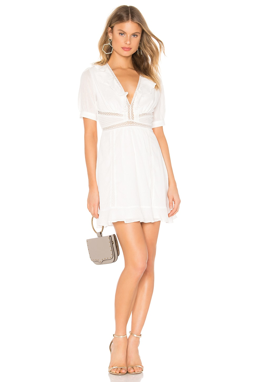 ASTR the Label Brennan Dress in White