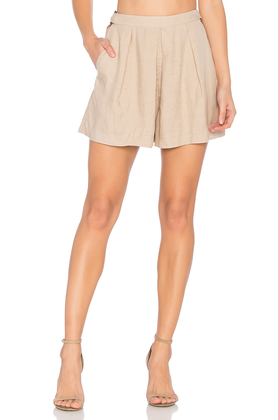 ASTR Audrey Short in Taupe