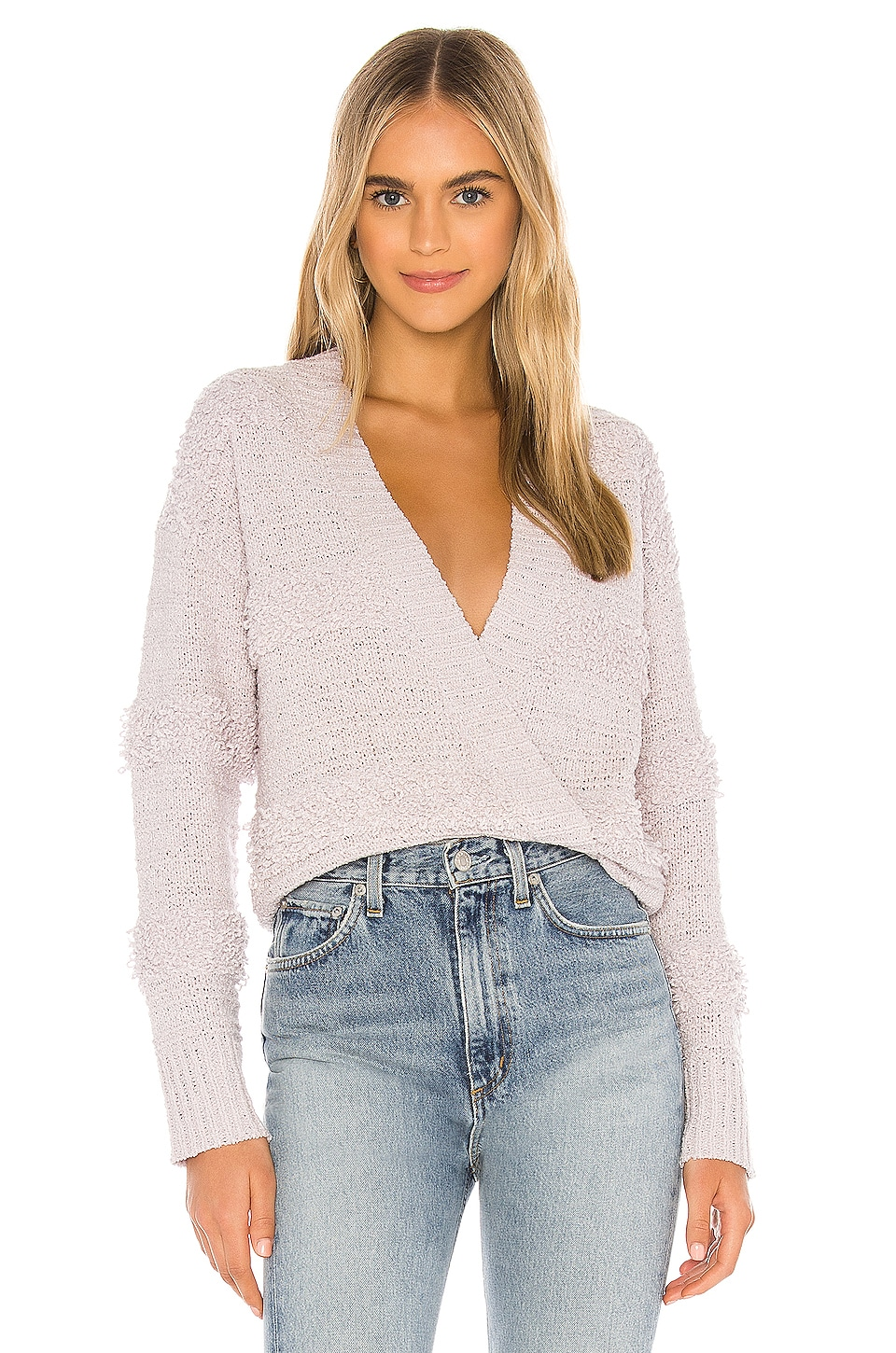 ASTR the Label Madeline Sweater in Lilac