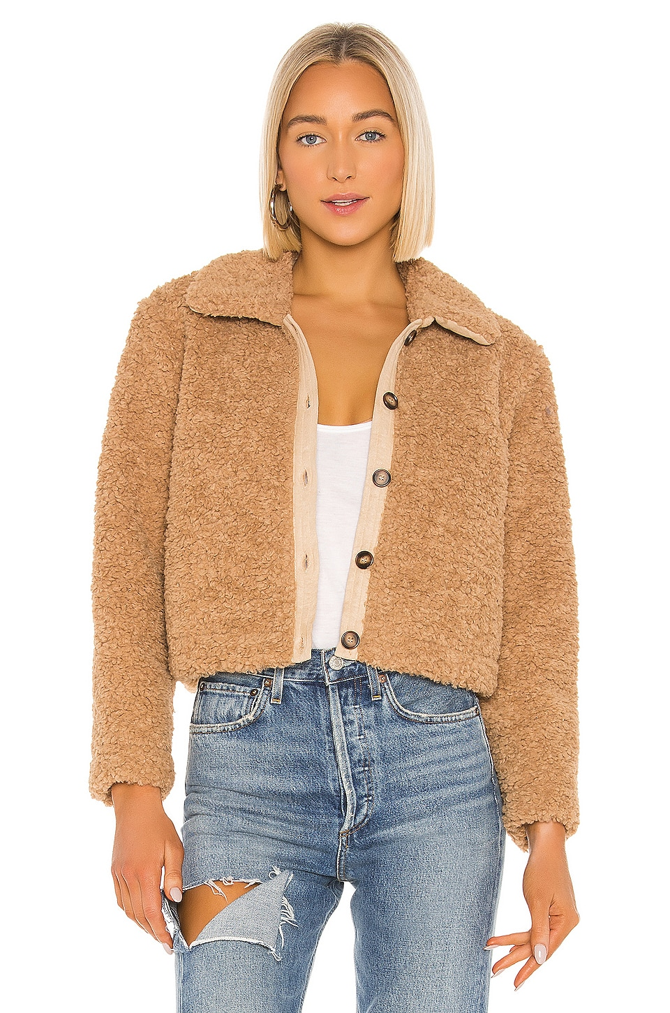 ASTR the Label BLOUSON TEDDI