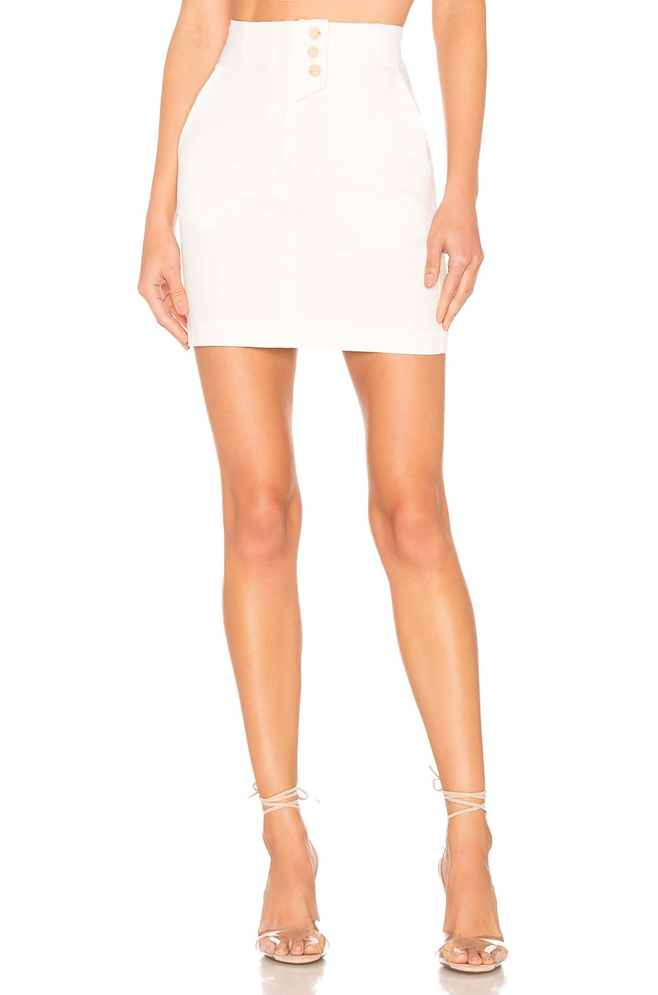 ASTR the Label Wallace Skirt in White