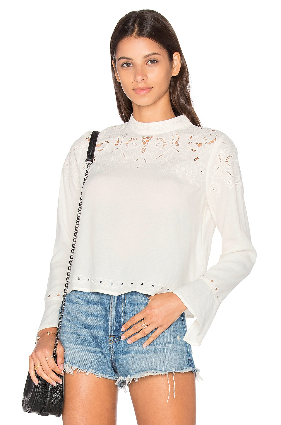 ASTR Winifred Blouse in Ivory
