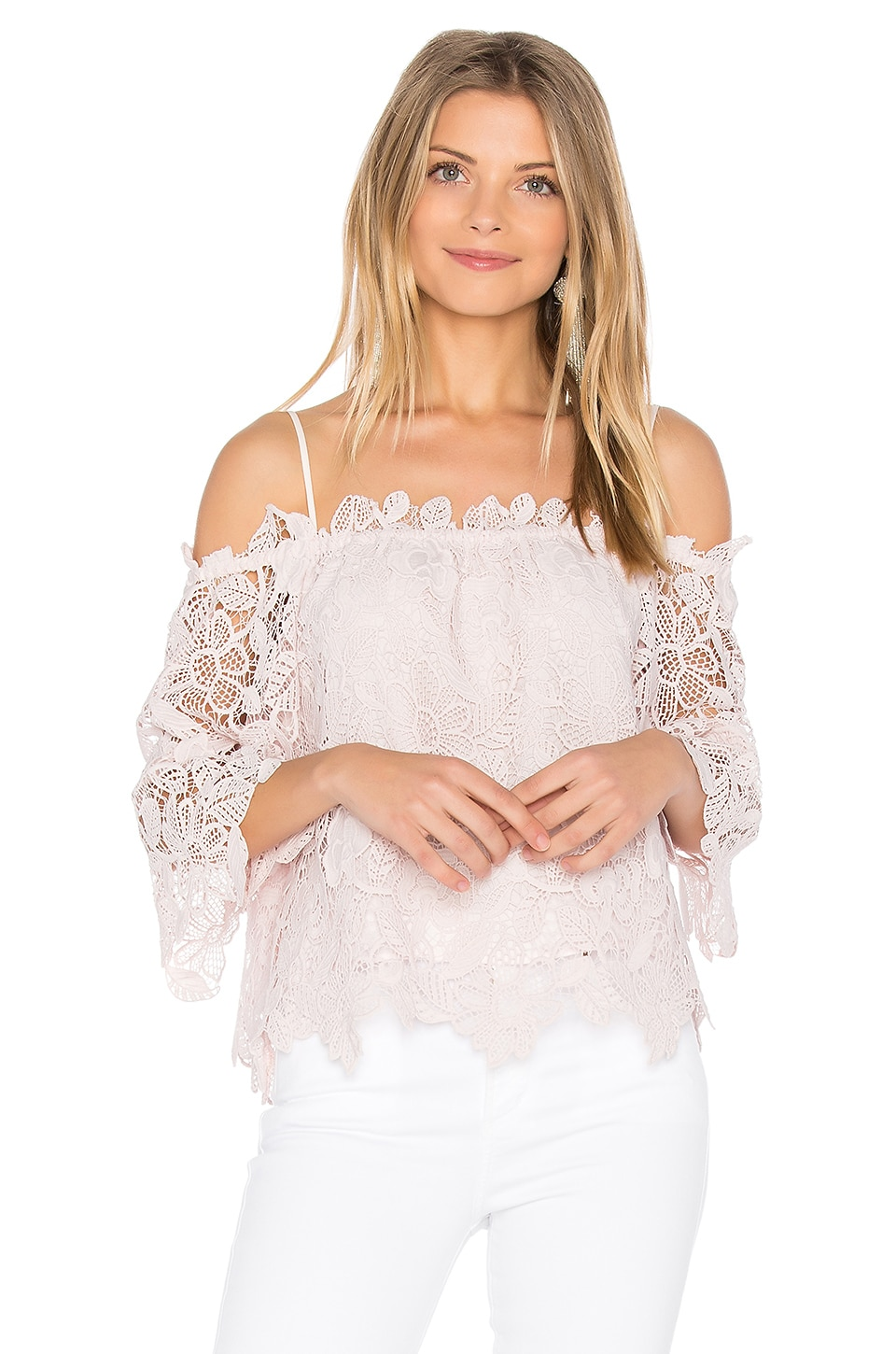 ASTR Amalie Top in Blush