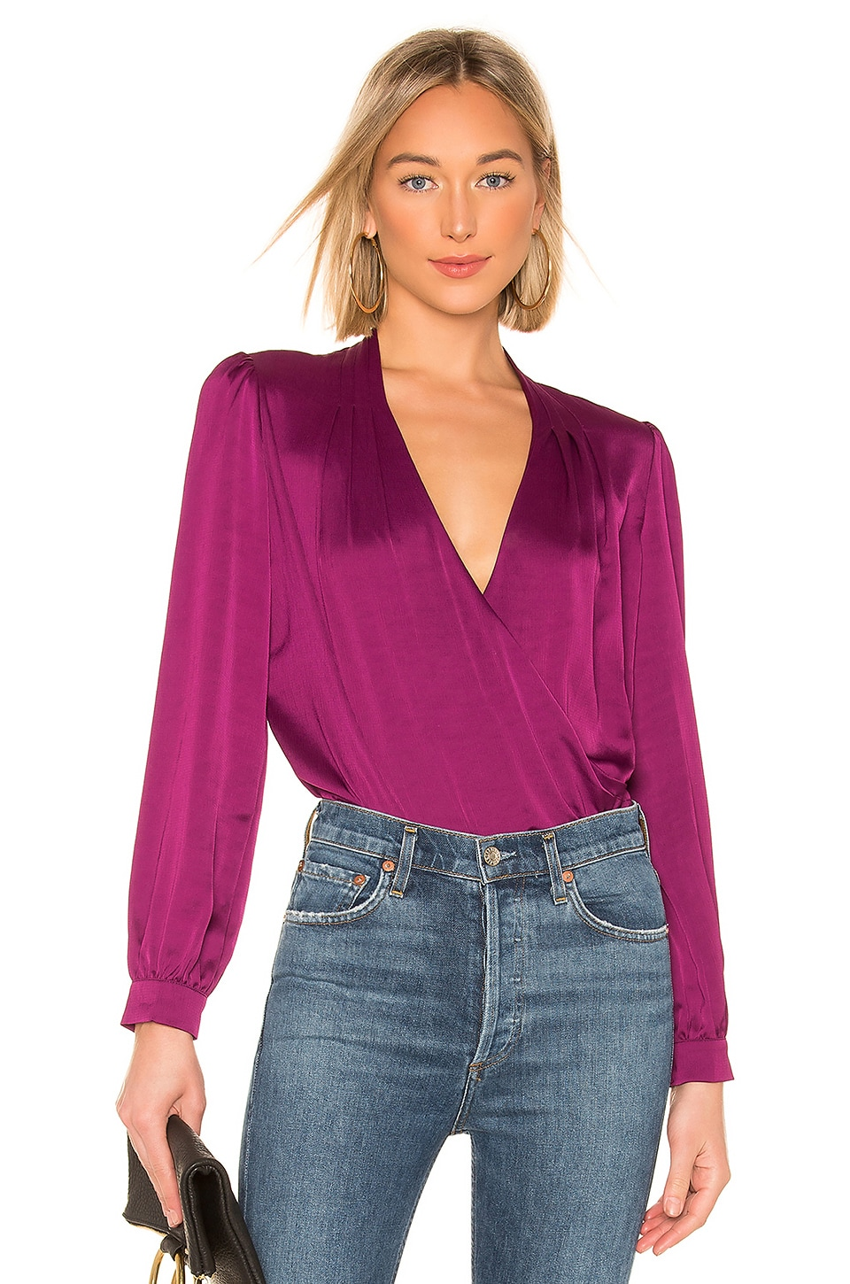 ASTR the Label Janice Top in Grape