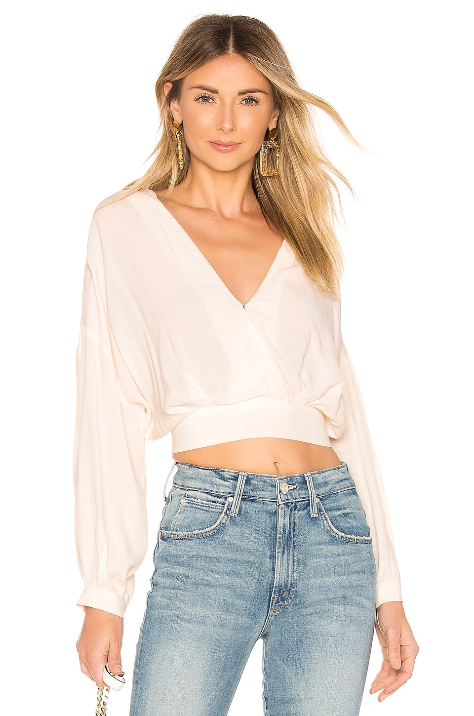 ASTR the Label Jaise Top in White