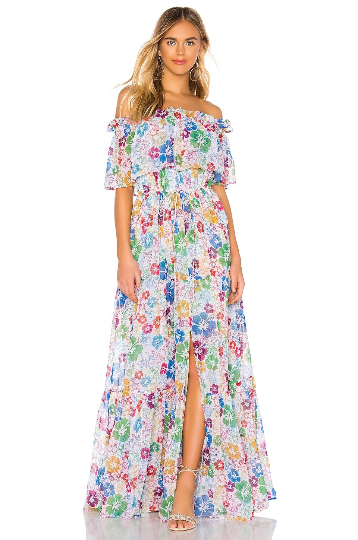 All Things Mochi Kona Dress in Multi Floral