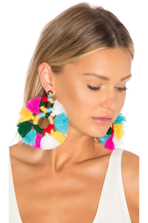All Things Mochi Dream Catcher Earrings in Multi