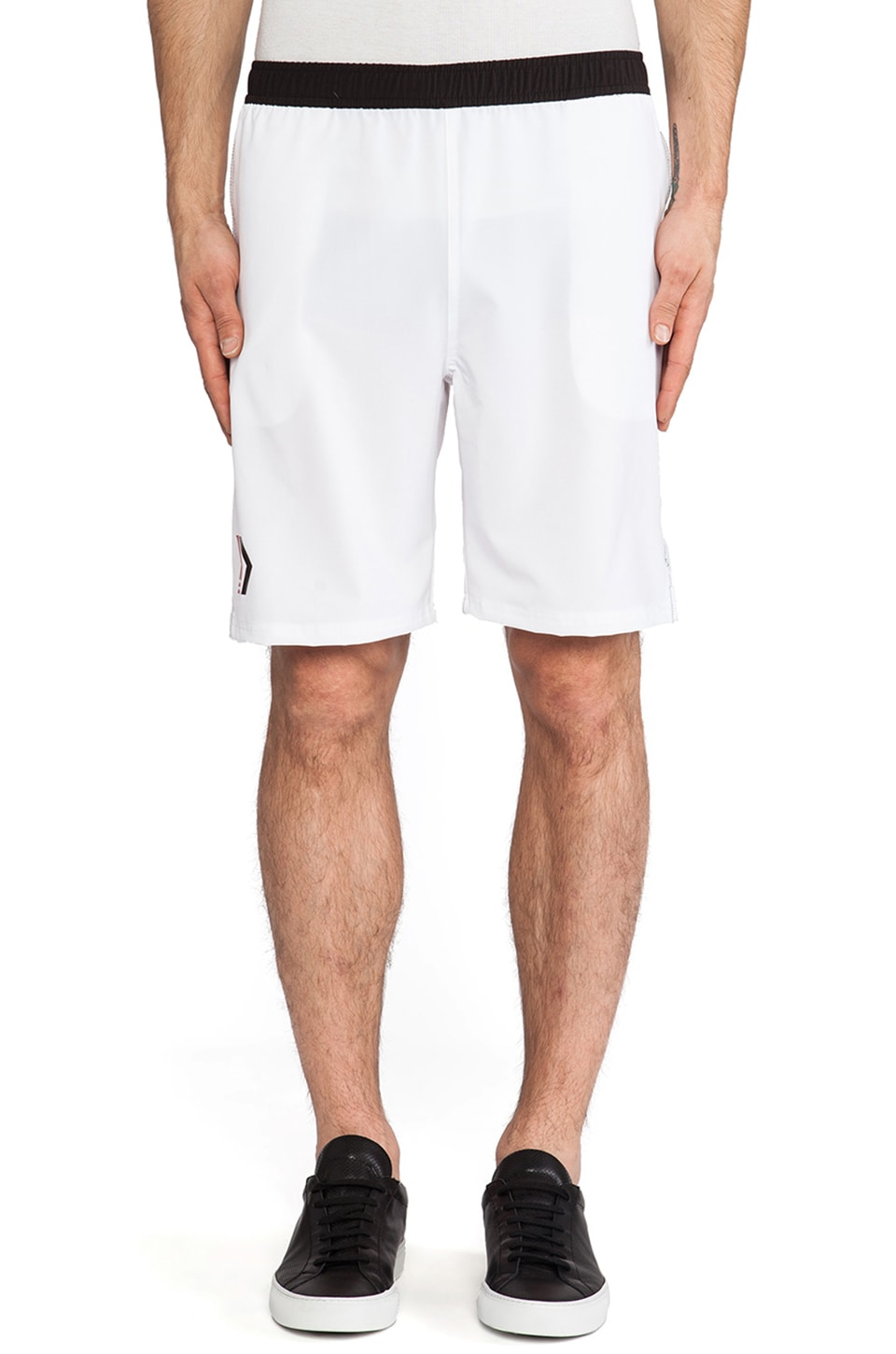 Athletic Recon Firebolt Shorts in White