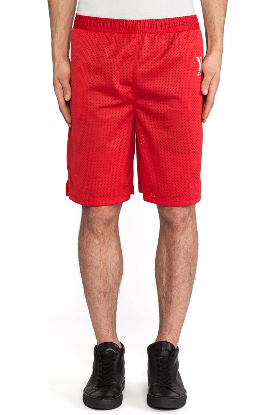 Athletic Recon Gladiator Shorts in Red
