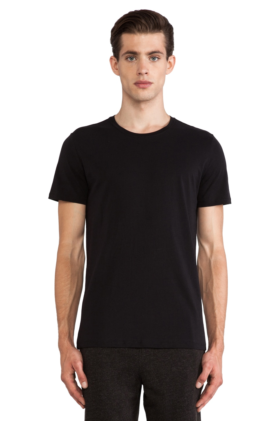 ATM Anthony Thomas Melillo Classic Tee in Black