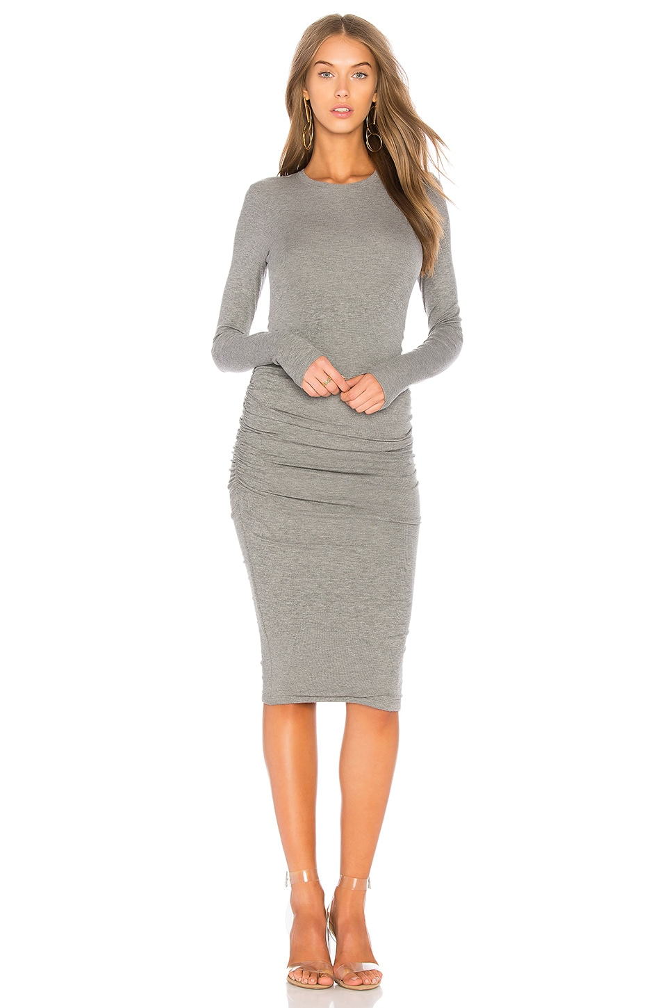 Rib Knit Dress by ATM Anthony Thomas Melillo
