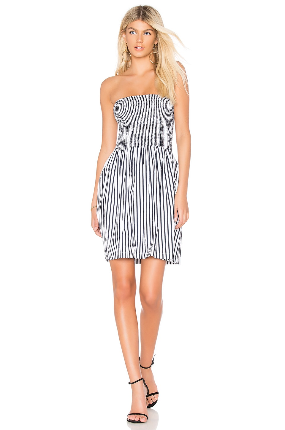 Ruched Mini Dress by ATM Anthony Thomas Melillo