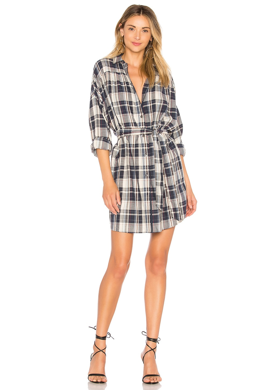 Plaid Shirt Dress by ATM Anthony Thomas Melillo