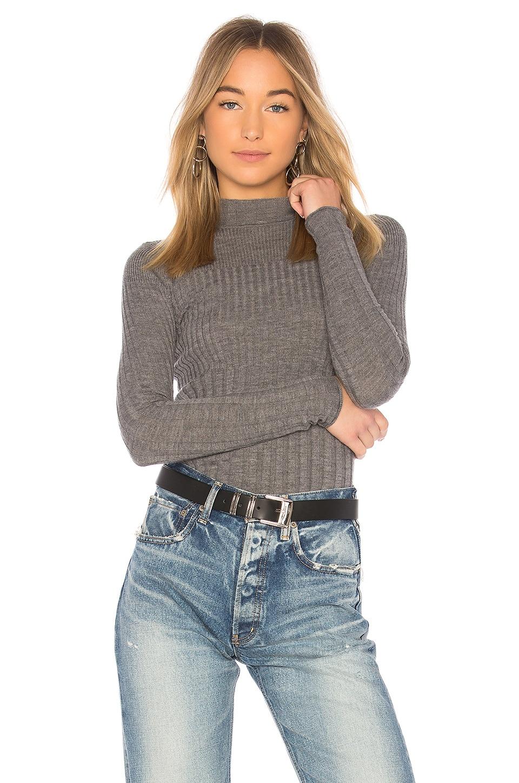 Rib Turtleneck Sweater