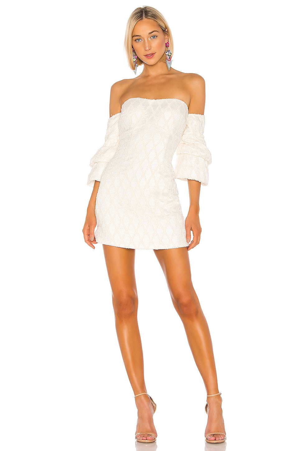 Atoir New Theory Dress in Ivory
