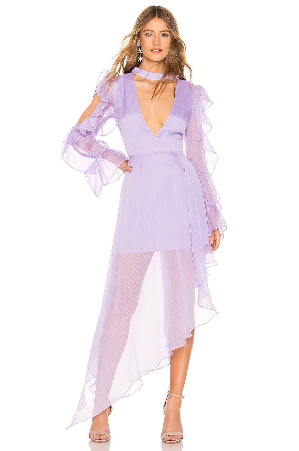 Atoir Not Too Late Dress in Lilac