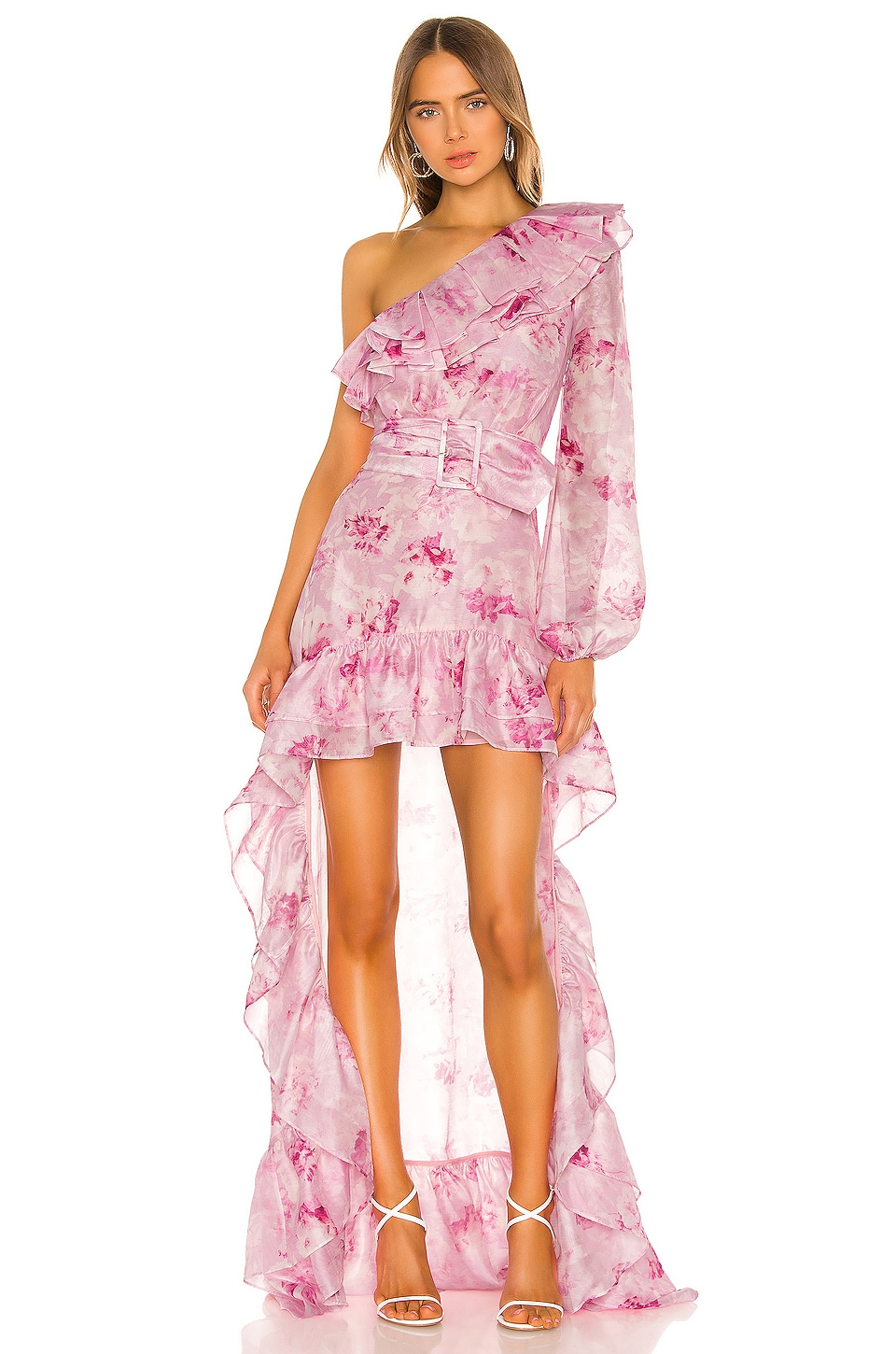 Atoir Whirlwind Dress in Peony Print