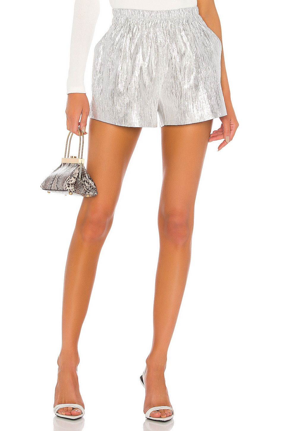 Atoir This Love Shorts in Silver Lining