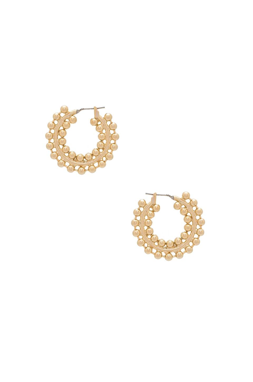 Nicoletta Hoop Earrings by Auden
