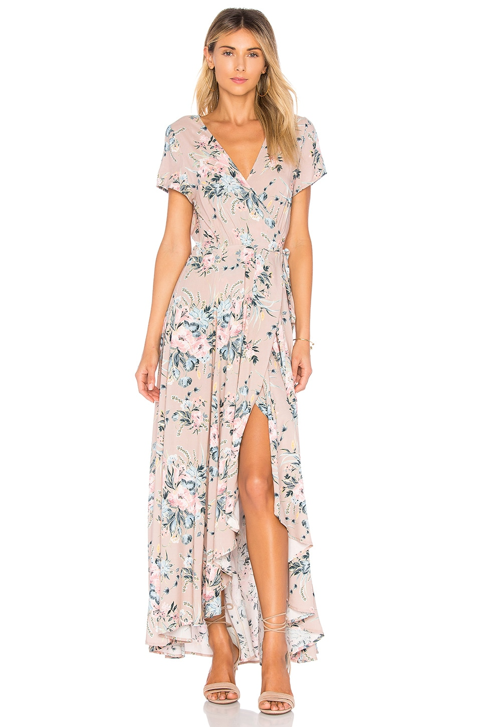 Scarlett Wrap Maxi Dress