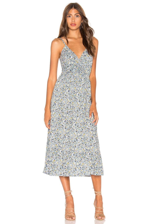 AUGUSTE Daisy Amore Midi Dress in Blue