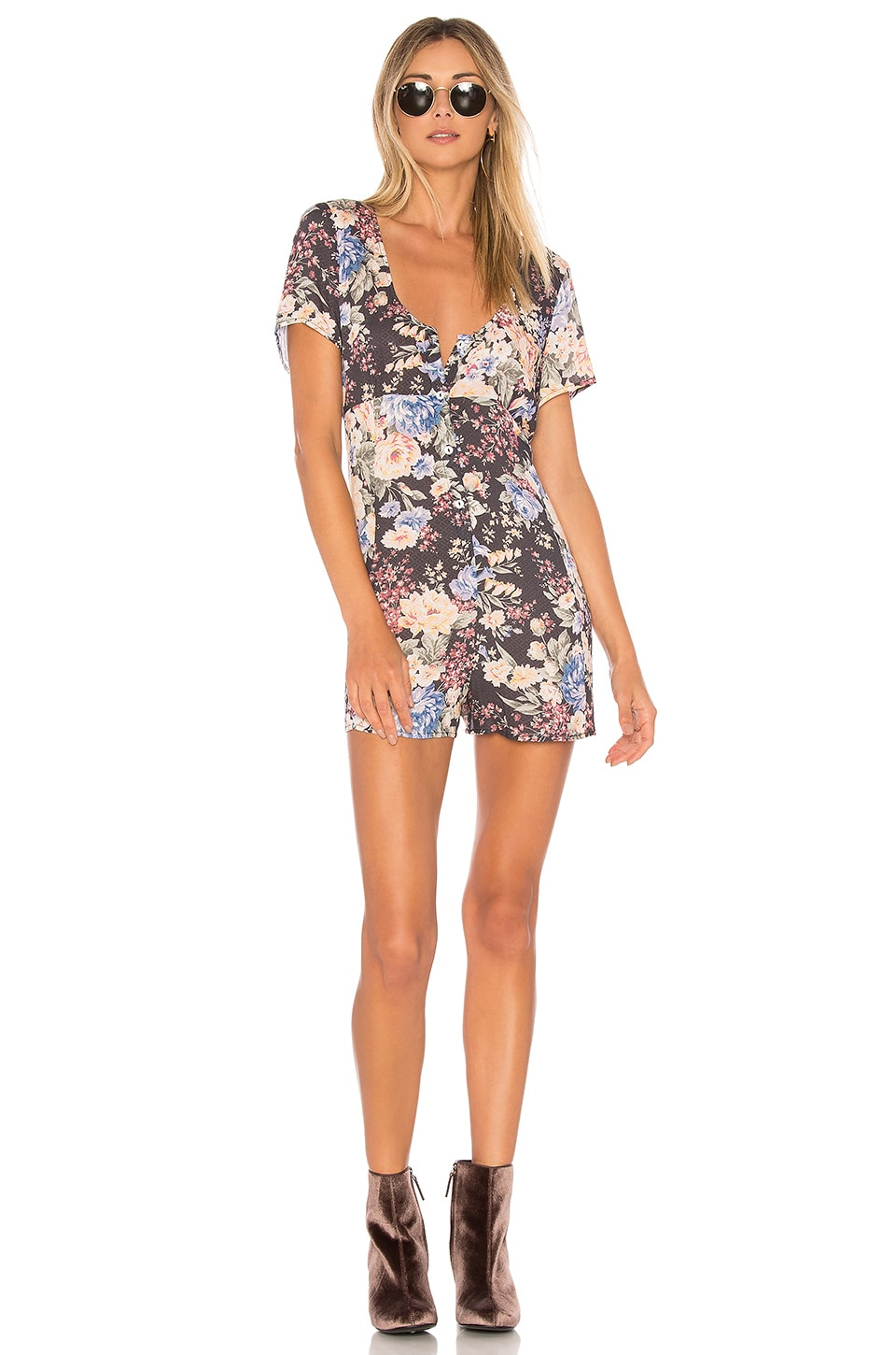 Dahlia Button Down Romper