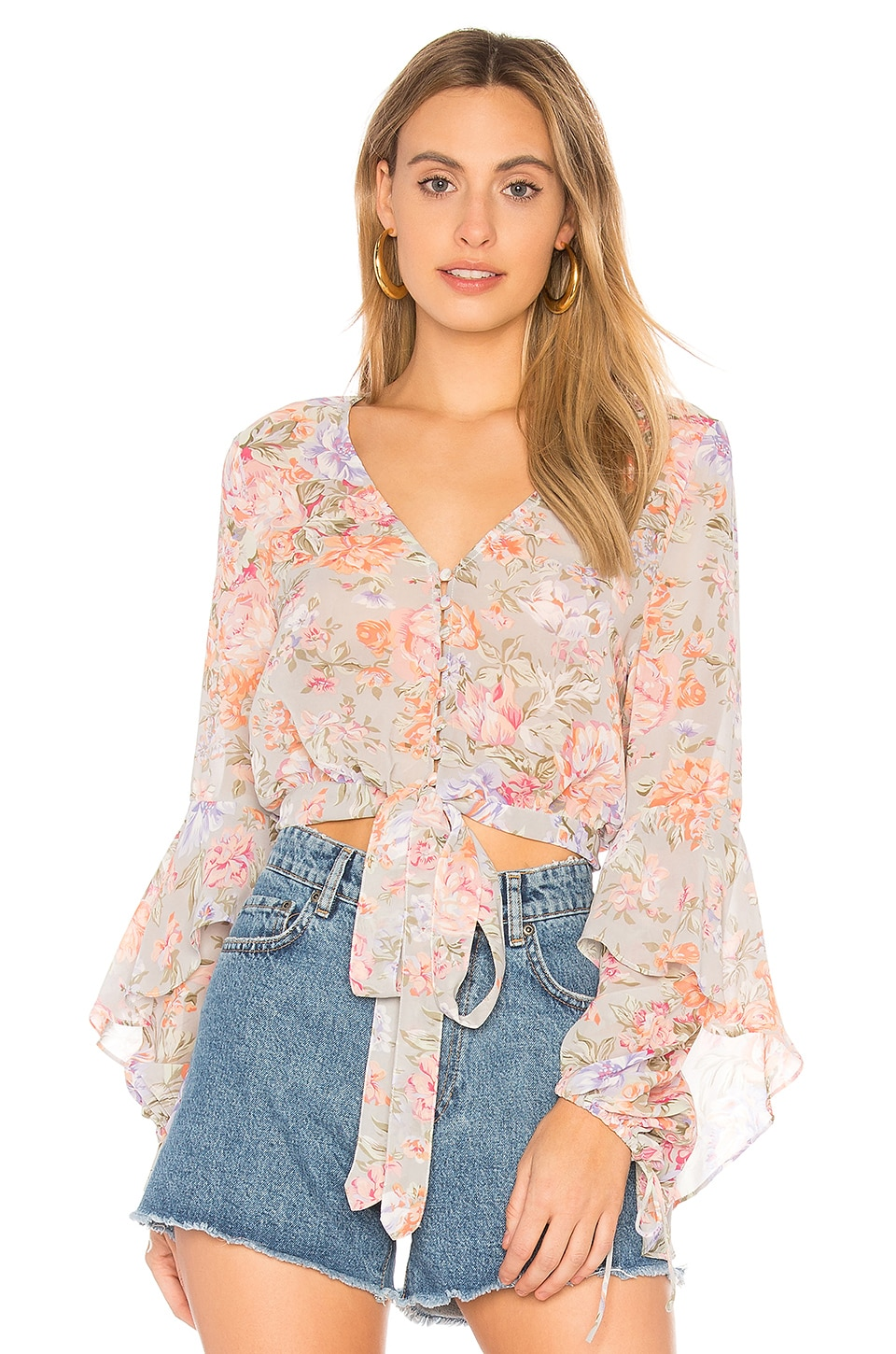 New Romance Poet Blouse by Auguste