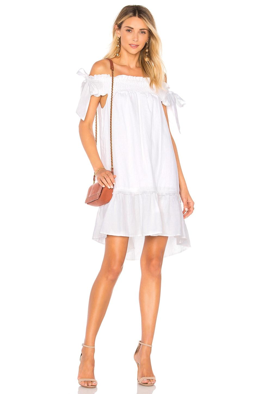 AZULU Anabella Dress in White