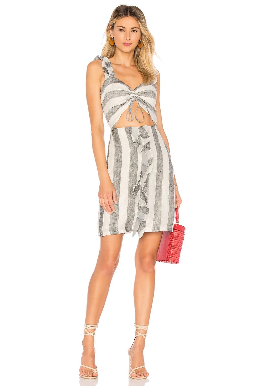 AZULU Viajera Dress in White