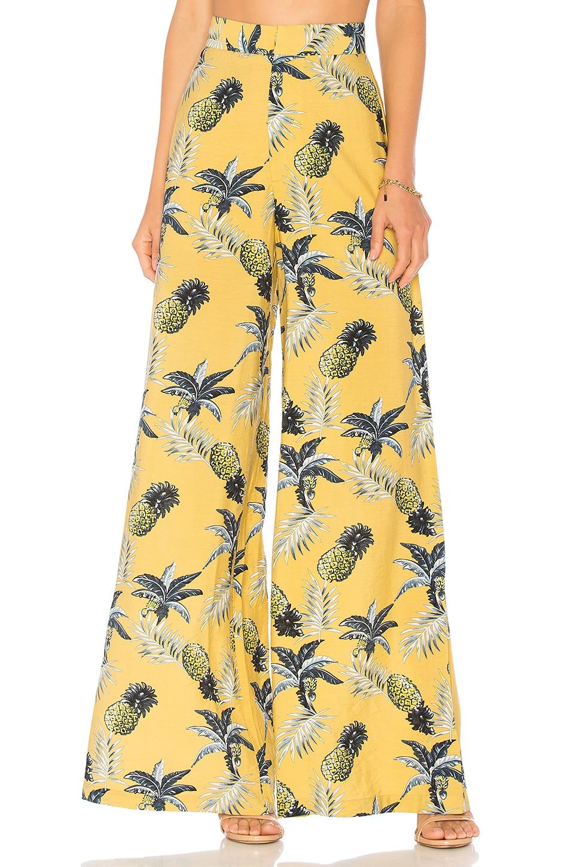 AZULU Palmera Pant in Yellow