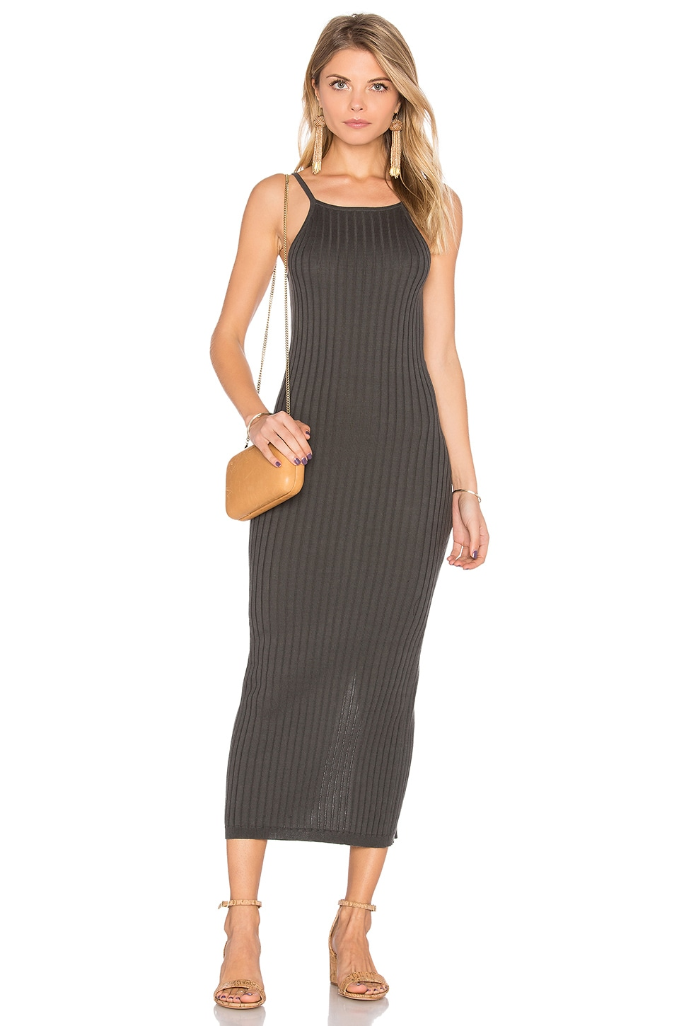 Rib Maxi Dress by Autumn Cashmere