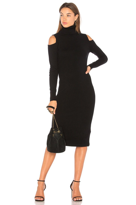 Cold Shoulder Body Con Dress by Autumn Cashmere