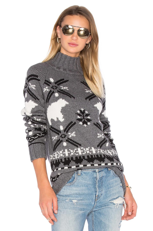 Polar Bear Turtleneck Sweater by Autumn Cashmere