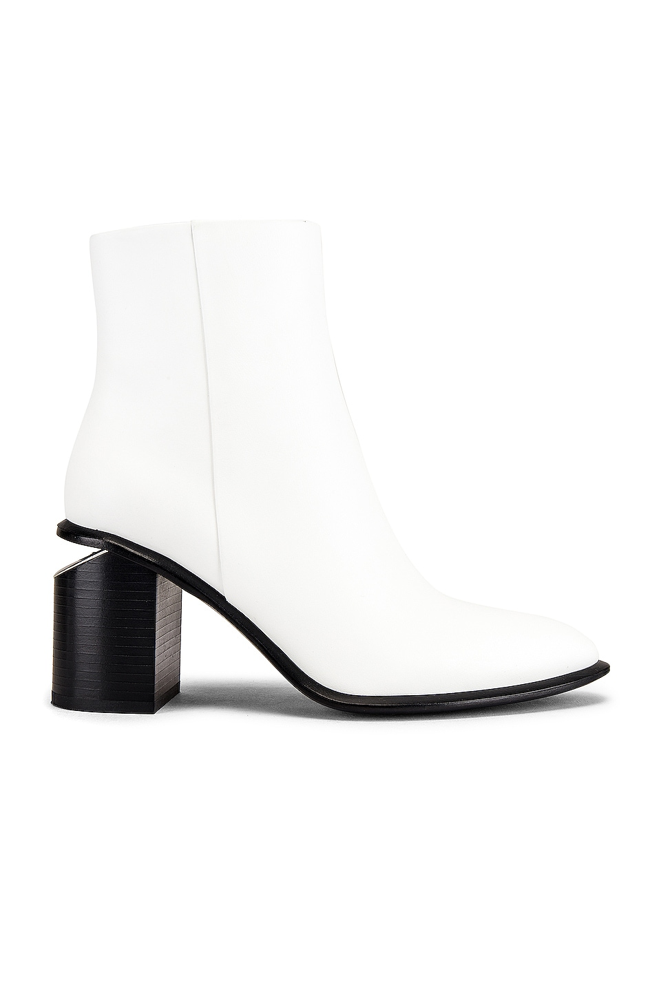 Alexander Wang Anna Heeled Bootie in White