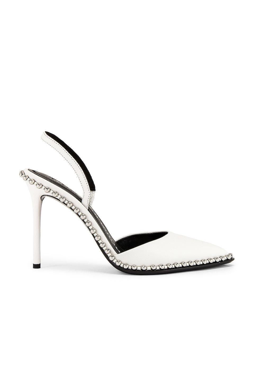 Alexander Wang Rina Leather Heel en White