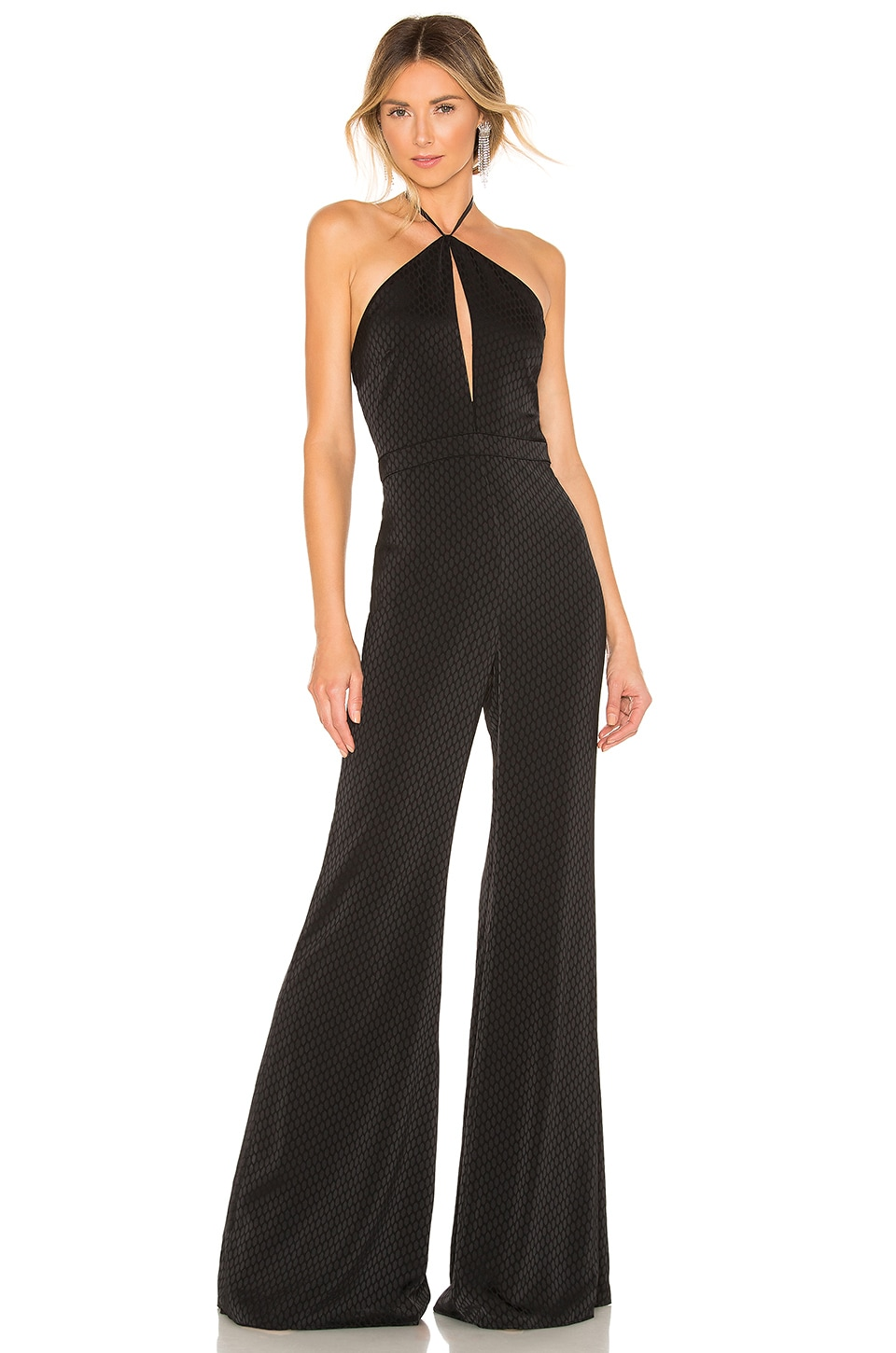 Alexis Naila Jumpsuit in Geo Black Print