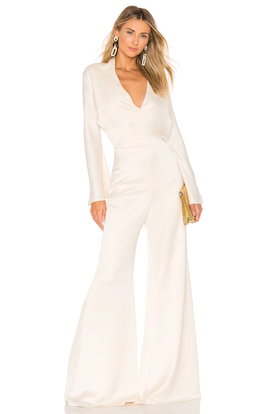Alexis Raine Jumpsuit in Ivory