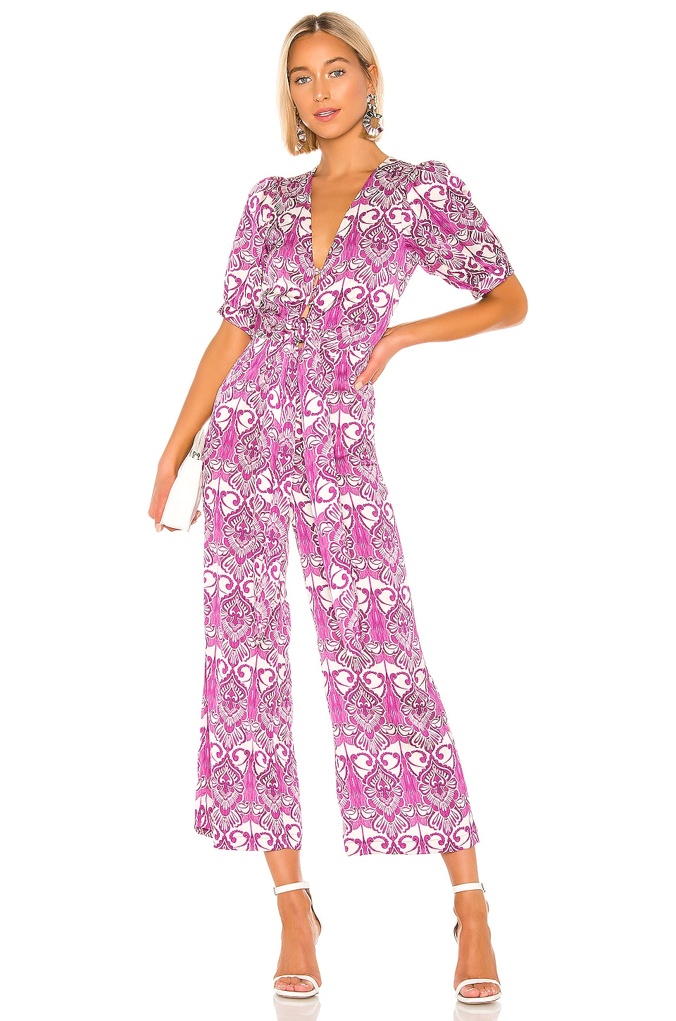 Alexis Mavis Jumpsuit in Mulberry Palm