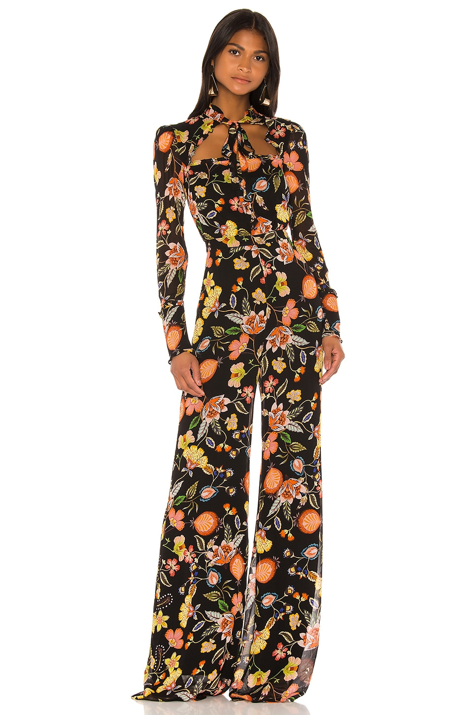 Alexis Imogene Jumpsuit in Black Nouveau