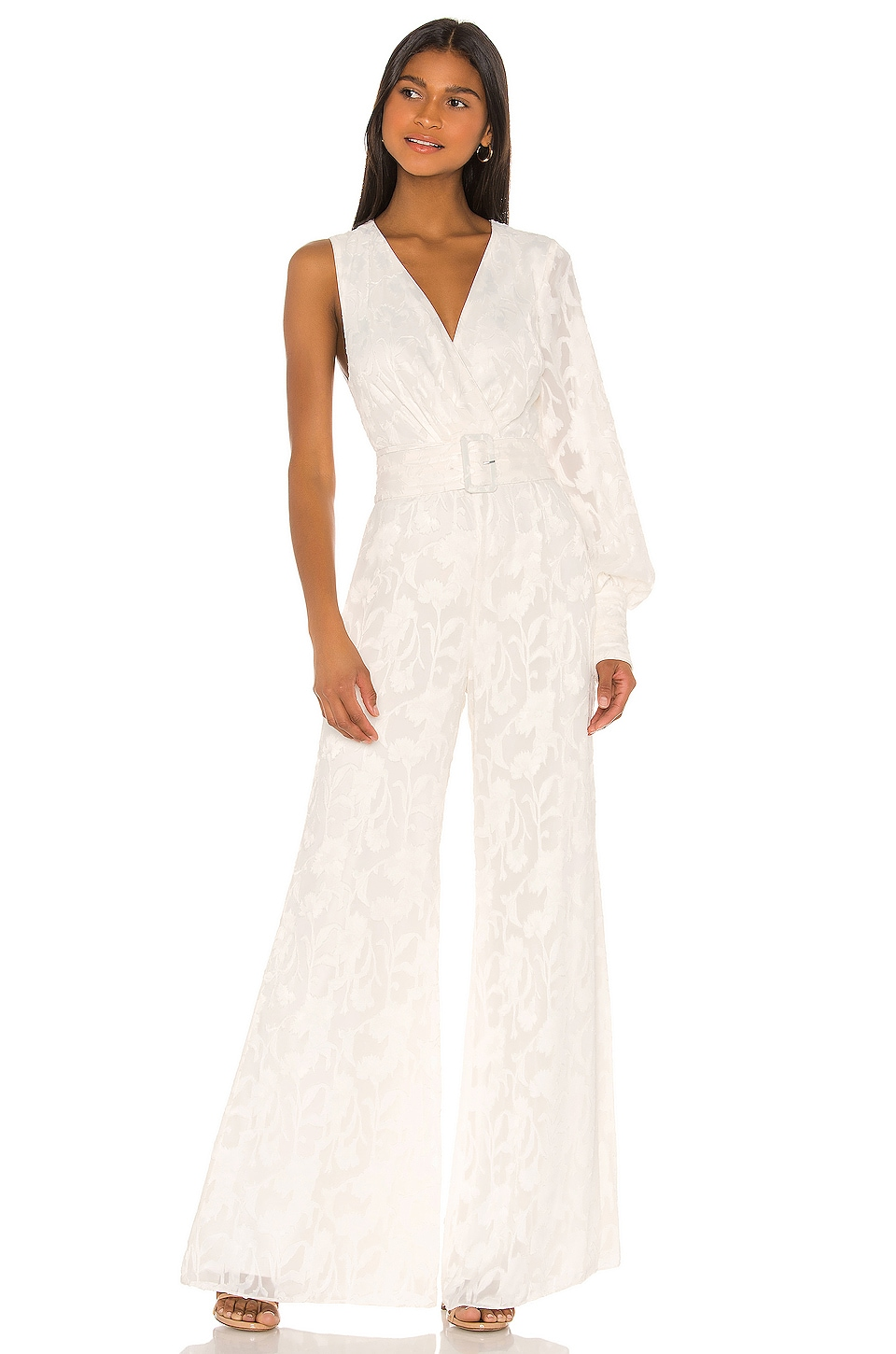 Alexis Berezzi Jumpsuit in Ivory Floral