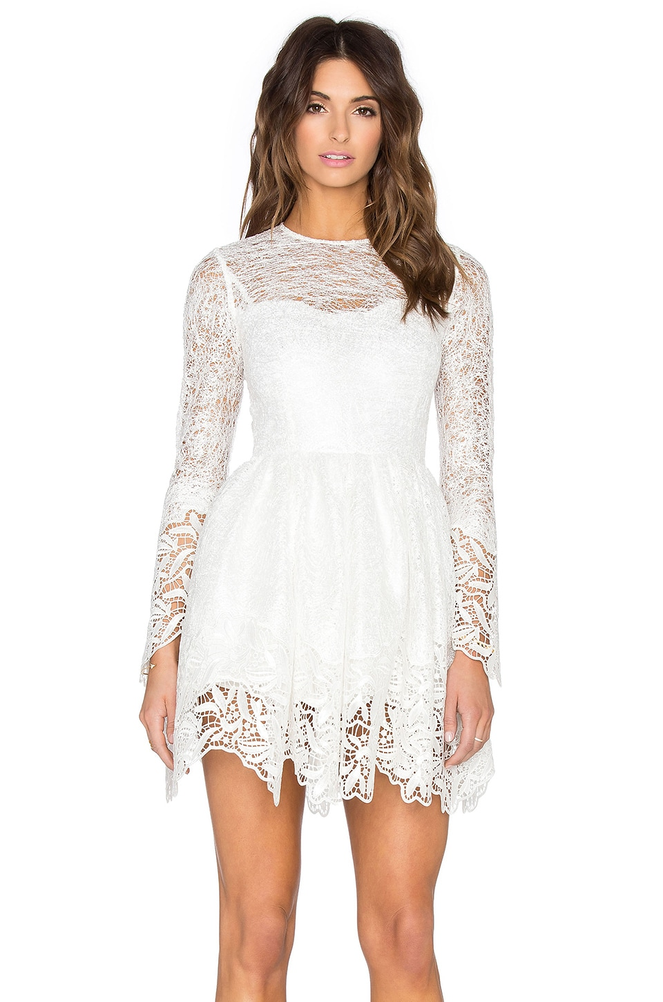 Alexis Malin Dress in White