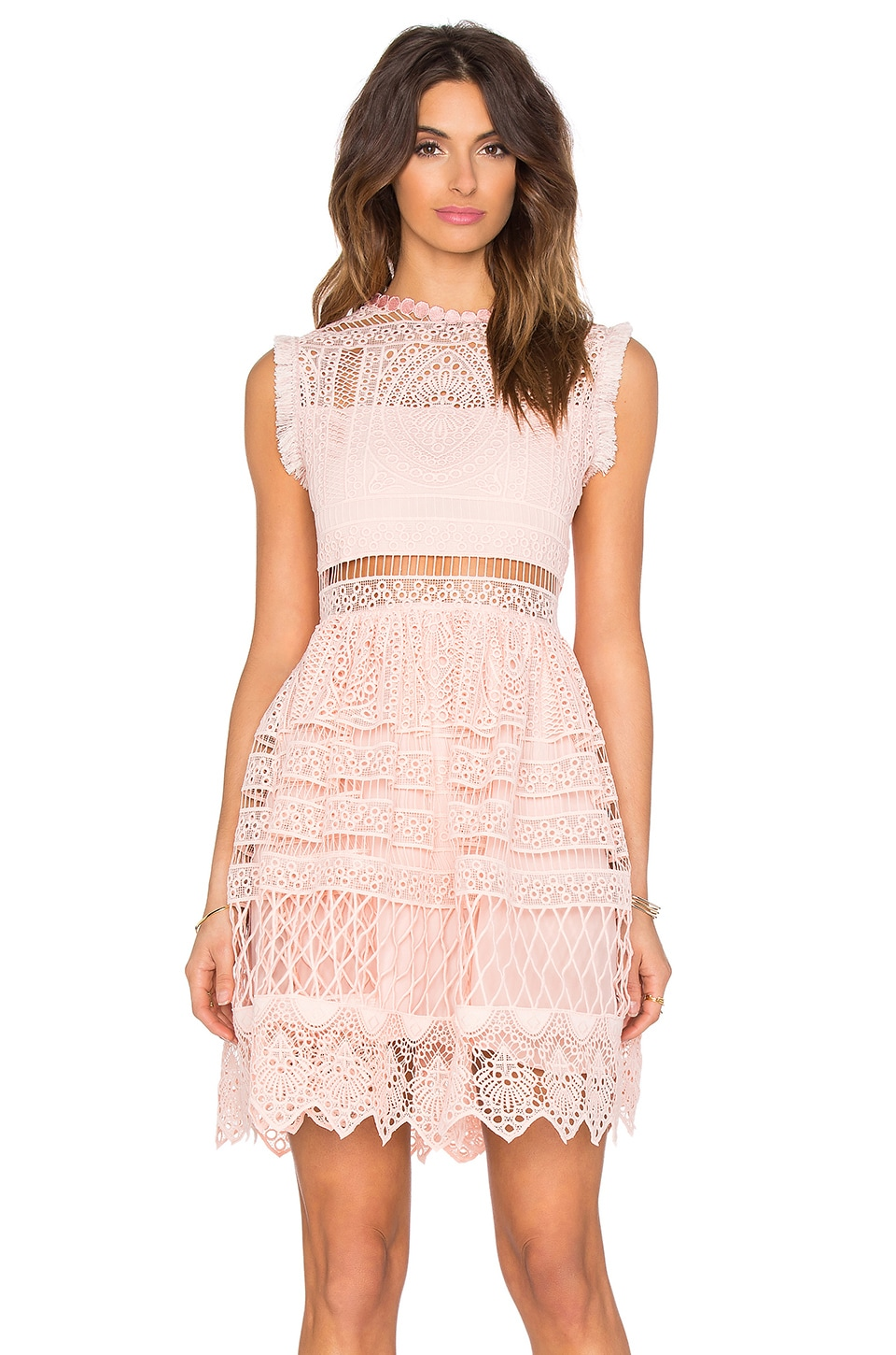 Alexis Sage Fit & Flare Dress in Blossom
