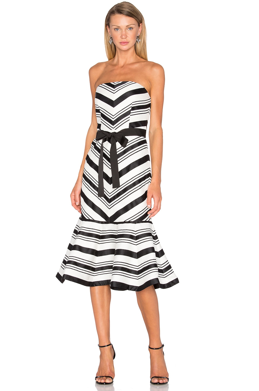 Kirsten Strapless Dress by Alexis
