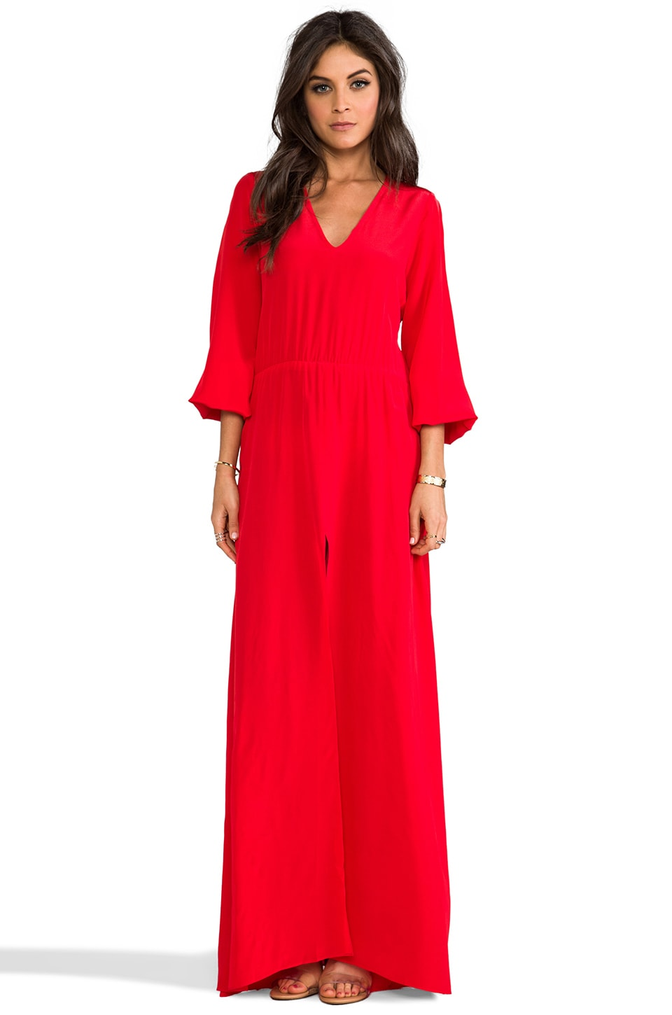 Alexis Philo Dress in Red