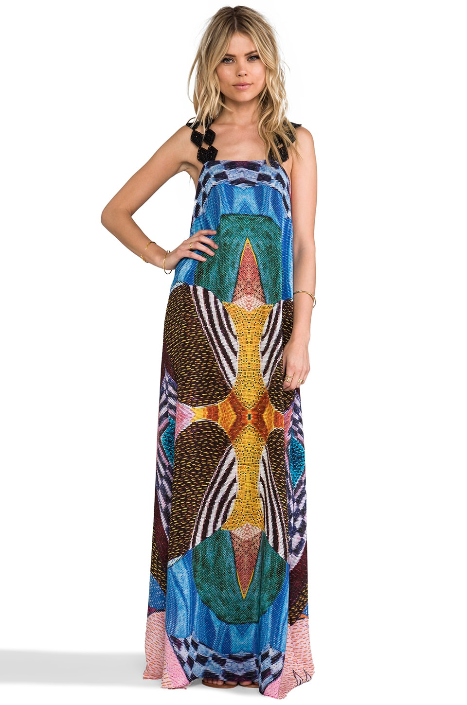 Alexis Tyson Dress in African Tribal