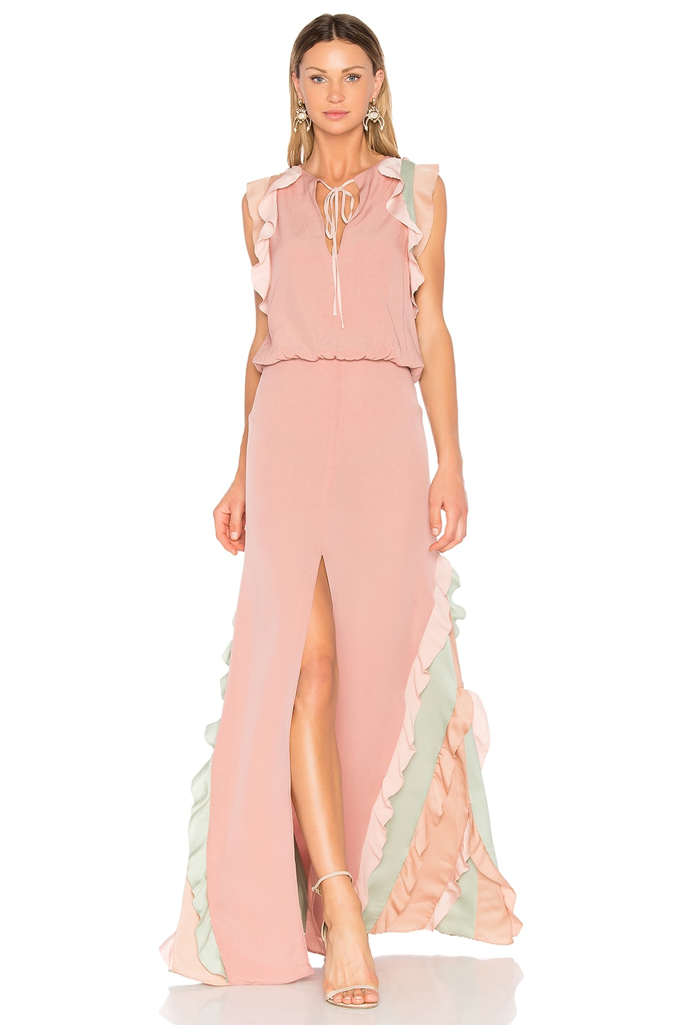 Alexis Battista Gown in Pink