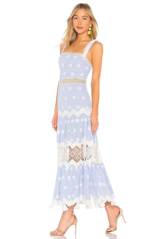 55af8676bc Alexis Ada Dress in Blue White Stripes   REVOLVE
